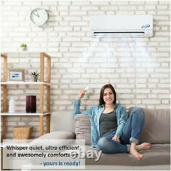 18000 BTU Aircon Mini Split Heat Pump AC Ductless Air Conditioning 18 Seer