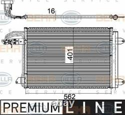 8FC 351 301-041 HELLA Condenser air conditioning