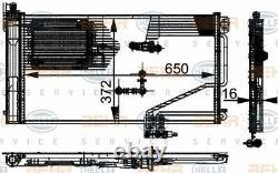 8FC 351 301-344 HELLA Condenser air conditioning