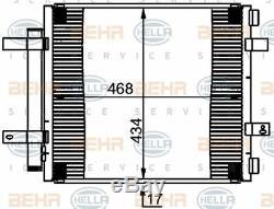 8FC 351 301-591 HELLA Condenser air conditioning