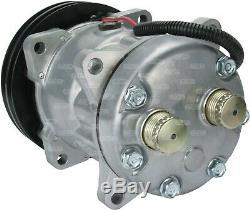 A/C AIR CON CONDITIONING PUMP COMPRESSOR FOR CASE 5130 5150 5120 6T-590 Maxxum