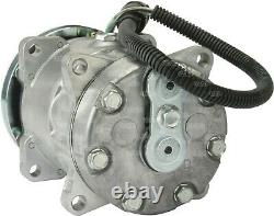 A/c Air Con Conditioning Pump Compressor For Daf Truck 24 Volt Single 1 Groove