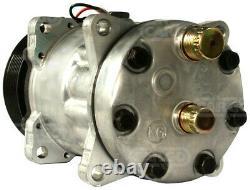 A/c Air Con Conditioning Pump Compressor For Sanden Hella Nrf 12 Volt 8 Groove
