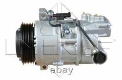 Air Con Compressor fits BMW 320D E90 2.0D 04 to 11 AC Conditioning NRF Quality