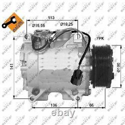 Air Con Compressor fits HONDA CR-V RD4 2.0 01 to 07 K20A4 AC Conditioning NRF