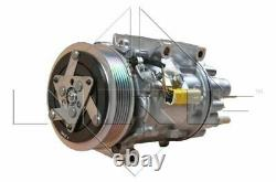 Air Con Compressor fits PEUGEOT EXPERT VF3 2.0D 2007 on AC Conditioning NRF New