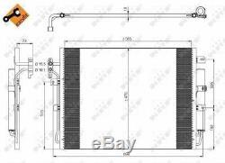 Air Con Condenser 350217 NRF AC Conditioning JRB500040 JRB500130 LR018403 New