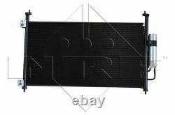 Air Con Condenser fits HONDA CIVIC FN2 2.0 2006 on K20Z4 AC Conditioning NRF New