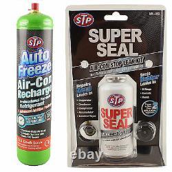 Air Conditioning MRL-3 Super Seal A/C Stop Leak Refill Regas R-134a Gas AIR CON