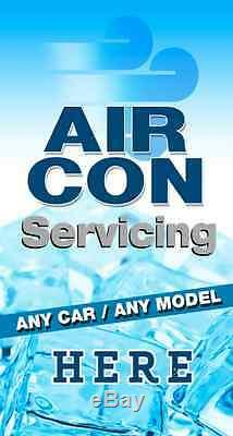 Air Conditioning Service A BOARD PAVEMENT SIGN ALUMINIUM DISPLAY Garage Air Con