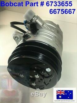Bobcat Air Con Conditioning Compressor 6733655 6675667 773 863 864 873 883 963