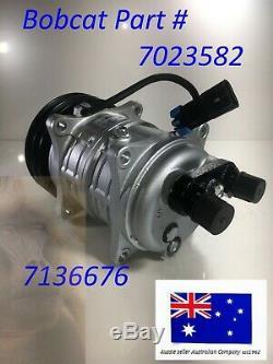 Bobcat Air Con Conditioning Compressor 7023582 7136676 S160 S185 S205 T180 T190