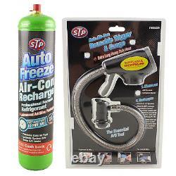 Car Air Con Conditioning Top up Aircon Recharge Refill Regas DIY R-134a Gas Kit