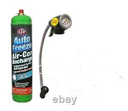 Car Air Con Kit Top Up Aircon Conditioning Recharge Refill R-134a Trigger Gauge