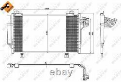 Der Kondensator, Die Klimaanlage Für Mazda 3 Bm Bn Shy1 S5y5 Axela Bm Bn Shy6