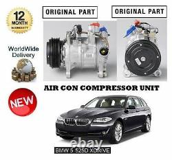 FOR BMW 520D 525D xDRIVE 2011 NEW AC AIR CON CONDITION COMPRESSOR UNIT