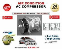 For Abarth Grande Punto 1.4 2007- New Ac Air Con Conditioning Compressor
