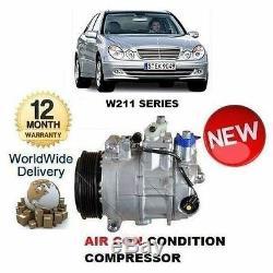 For Mercedes E Class W211 2002-2008 Air Con Conditioning Compressor
