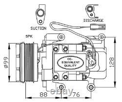 Kompressor Klimaanlage NRF 32234
