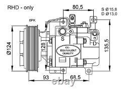 Kompressor Klimaanlage NRF 32408