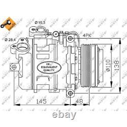 Kompressor Klimaanlage NRF 32465