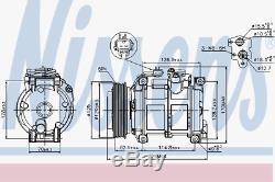 Kompressor Klimaanlage Nissens 89074