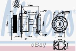 Kompressor Klimaanlage Nissens 89097