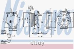 Kompressor Klimaanlage Nissens 89221