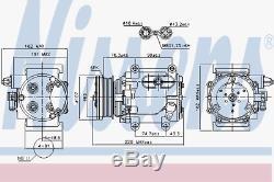 Kompressor Klimaanlage Nissens 89239
