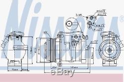 Kompressor Klimaanlage Nissens 89315
