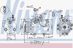 Kompressor Klimaanlage Nissens 89349