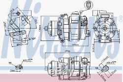 Kompressor Klimaanlage Nissens 89418