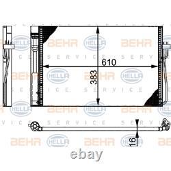 Kondensator Klimaanlage Hella 8FC 351 301-331