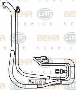 MAHLE BEHR LCV Aircon pipes and hoses PREMIUM LINE AP95000P