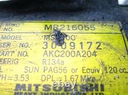 MITSUBISHI Evo 4 5 6 7 AIRCON AIR CONDITIONING PUMP MR216055 COMPRESSOR