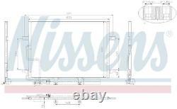 Mercedes E Class Aircon Radiator Condenser 2002 94614 A2115000154