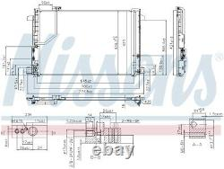 NISSENS 940035 Air-con Condenser