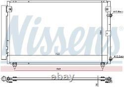 NISSENS 940433 Air-con Condenser