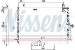 NISSENS 94162 Kondensator Klima Anlage Mercedes Benz W124 S124 C124 230 E Cat