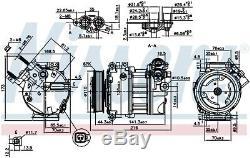 NISSENS Air-con Compressor 890123