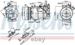 NISSENS Air-con Compressor 890299