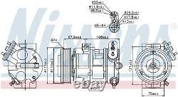 NISSENS Air-con Compressor 89126