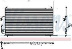 NISSENS Air-con Condenser 94224 (SPEC ORDER non-UK stock)