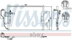NISSENS Air-con Condenser 94588