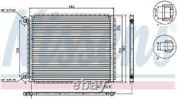 NISSENS Air-con Condenser Universal 94958 (SPEC ORDER non-UK stock)