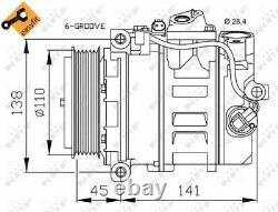 NRF 32214 COMPRESSOR AIR CONDITIONING Front
