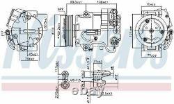 Nissens 890058 Compressor Air Conditioning