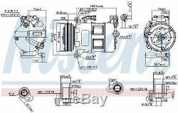 Nissens 890062 Compressor Air Conditioning