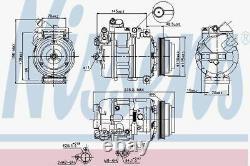 Nissens 89080 Compressor Air Conditioning