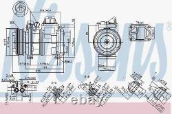 Nissens 89093 Compressor Air Conditioning